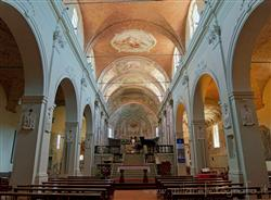 Places  of historical value  of artistic value around Milan (Italy): Abbey of San Donato