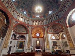 Places  of historical value  of artistic value around Milan (Italy): Sanctuary of Saint Mary at the Square