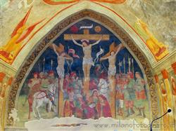 Places  of historical value  of artistic value around Milan (Italy): Church of San Damiano