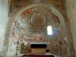 Places  of historical value  of artistic value around Milan (Italy): Church of San Michele