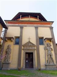 Places  of historical value  of artistic value around Milan (Italy): Villa Church