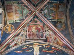 Places  of historical value  of artistic value around Milan (Italy): Oratory of Santo Stefano