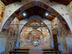 Places  of historical value  of artistic value around Milan (Italy): Oratory of the Holy Trinity