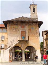 Places  of historical value  of artistic value  of landscape value around Milan (Italy): Orta San Giulio