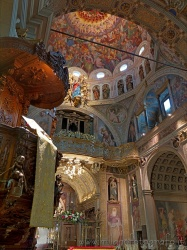 Places  of historical value  of artistic value around Milan (Italy): Sanctuary of the Blessed Virgin of the Miracles