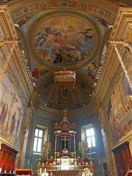 Places  of historical value  of artistic value around Milan (Italy): Sanctuary of the Holy Crucifix