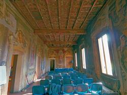 Places  of historical value  of artistic value around Milan (Italy): Villa Visconti