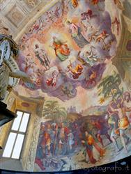 Places  of historical value  of artistic value around Milan (Italy): Church of Santo Stefano