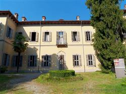 Places  of historical value  of artistic value around Milan (Italy): Trotti Palace